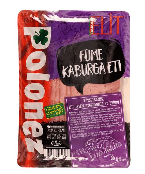 Kaburga Füme Et – 80 Gr