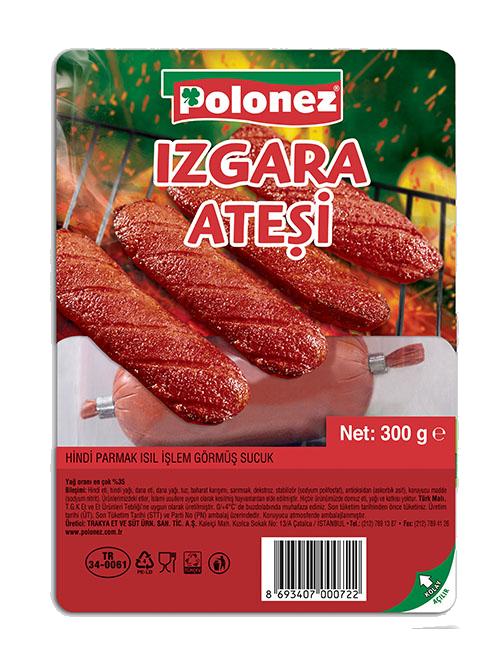 Polonez Hindi Isıl İşlem Görmüş Sucuk 300gr