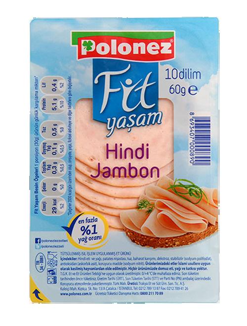 Polonez Hindi Jambon – 60 gr