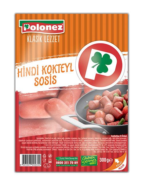 Polonez Hindi Kokteyl Sosis – 300 gr