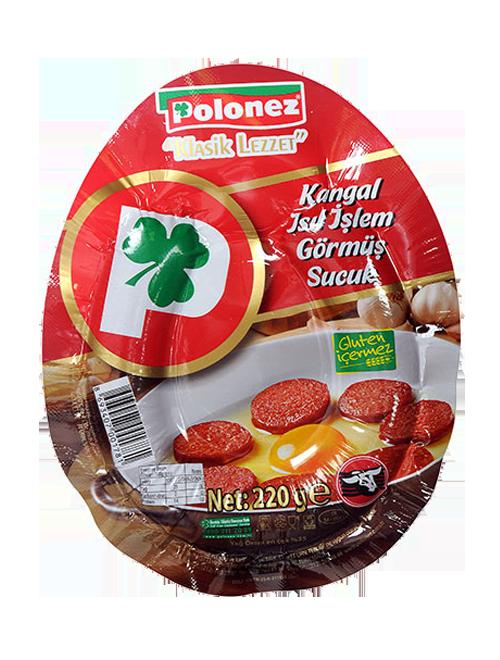 Polonez Kangal Isıl İşlem Görmüş Sucuk 220gr