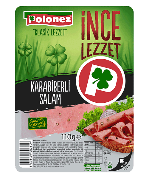 Polonez Karabiberli Salam – 110 gr
