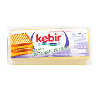 Tam Yağlı Tost Kaşar Peyniri 1000gr | 2000gr